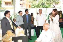 Mr. Nitesh Shetty, Founder & Chairman, Nitesh Land Limited , Mr. Ashwini Kumar, ED & COO, Nitesh Land Limited , Mr. L S Vaidyanathan Executive Director, Nitesh Land Limited and Raveena Tandon, Actress