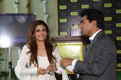 Mr. Nitesh Shetty, Founder & Chairman, Nitesh Land Limited and Raveena Tandon, Actress