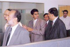 Inauguration of Nitesh Broadway   L to R: Mr. Nitesh Shetty, Founder & Chairman - Nitesh Land with Mr. Venkatesh Mysore, Chairman Metlife India on extreme right & Mr. Suraj Kaeley, Chief Marketing Officer- Metlife India