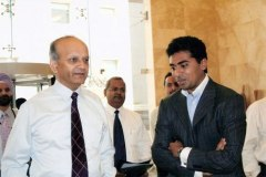 Mr. Nitesh Shetty, Founder & Chairman- Nitesh Land with Mr P.J. Nayak, Chairman & CEO, Axis Bank (Formerly UTI Bank)