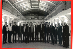Mr. Nitesh Shetty with Global CEO of JLL and others from the fraternity @The Opera House, Brigade Road, Bangalore