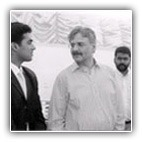 Mr. Nitesh Shetty, Founder & Chairman- Nitesh Group of Companies with Mr. Y.C. Deveshwar, Chairman - ITC Limited.
