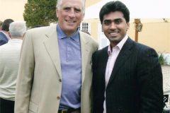Mr.Nitesh Shetty with Simon F.Cooper,President & Managing Director,Asia Pacific, Marriott International Inc.