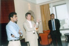 Mr. Nitesh Shetty and Arne Sorenson – President and Chief Operating Officer, Marriott World Wide at the Ritz Carlton review