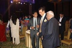 Mr. Nitesh Shetty, Founder & Chairman, Nitesh Land Limited ,  Mr. Deepak Parekh, Chairman HDFC.
