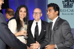Mr. Nitesh Shetty, Founder & Chairman, Nitesh Land Limited , Mr. Shane Krige, former General Manager.