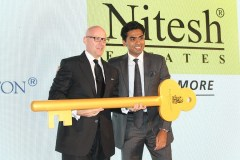 Mr. Nitesh Shetty, Founder & Chairman, Nitesh Land Limited , Mr. Shane Krige, former General Manager,The Ritz Carlton Bangalore