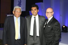 Mr. Nitesh Shetty, Founder & Chairman, Nitesh Land Limited , Mr. Shane Krige, former General Manager, The Ritz Carlton Bangalore and Mr. Deepak Parekh, Chairman HDFC.