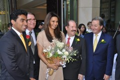 Mr. Nitesh Shetty, Founder & Chairman, Nitesh Land Limited , Mr. Shane Krige, former General Manager, The Ritz Carlton Bangalore , Mr. Peter Succouso, Managing Director - Apollo Global Real Estate Management and Ms. Diana Hayden